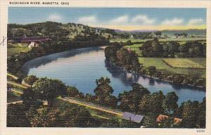 Muskingum River Marietta Ohio