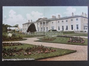 Ireland DUBLIN Viceregal Lodge, Phoenix Park - Old Postcard by Lawrence