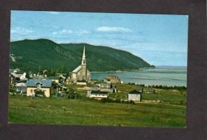 PQ  Church Village St Simeon Charlevoix Quebec Canada Postcard Carte Postale