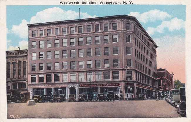 Woolworth Building - 5 & 10¢ Store - Watertown, New York WB
