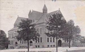 High School, Waukegan, Illinois, PU-1909