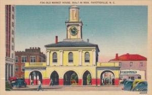 North Carolina Fayetteville Old Market House Built In 1838