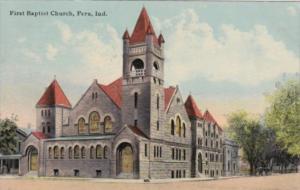 Indiana Peru First Baptist Church 1912