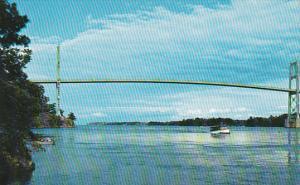 Canada Ontario Thousand Island The 1000 Island International Bridge Over The ...