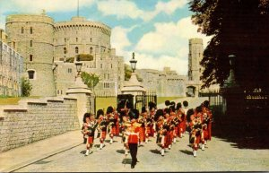 England Windsor Castle Castle Hill Band Of The Scots Guards