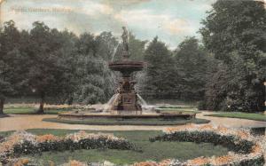 10083   Nova Scotia Halifax  Public Gardens  Fountain Monument