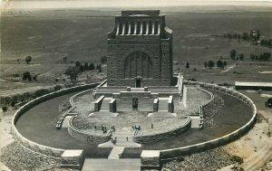 South Africa Pretoria aerial view Voortrekker Monument 1935 postcar