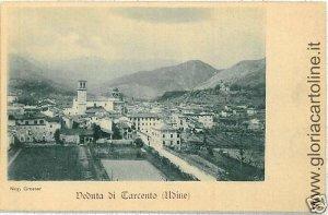 03707  CARTOLINA d'Epoca:  UDINE - TARCENTO: PANORAMA