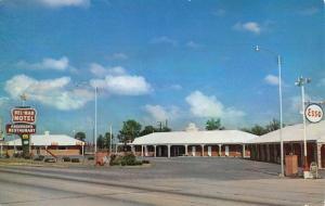Beebe Arkansas Bel Mar Motel Street View Vintage Postcard K90889