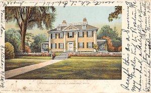 Longfellow's house Cambridge, Massachusetts, USA R.P.O., Rail Post Offices PU...