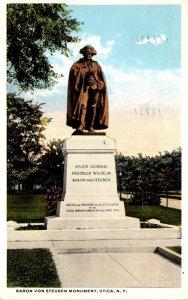 New York Utica Baron Von Steuben Monument 1917 Curteich