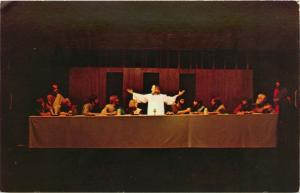 Eureka Springs, AR, Last Supper, The Great Passion Play, Vintage Postcard b7738