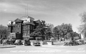 Webster City Iowa Court House Real Photo Vintage Postcard JE228399