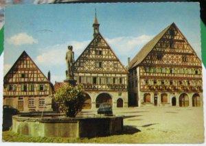 Germany Luftkurort Dormstetten im Schwarzwald Marktplatz - posted 1965