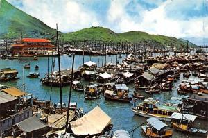Aberdeen Hong Kong Fishing Village Aberdeen Fishing Village