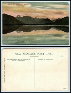 NEW ZEALAND Postcard - Head Of Lake Wakatipu From Glenorchy AH