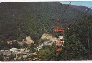 CHEROKEE , North Carolina , 1950-60s ; Sky High Chair Lift