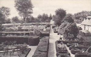 Virginia Mount Vernon The Washington Family Home View Of Flower Garden Lookin...