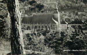 Romania carte postala Brasov Biserica Neagra