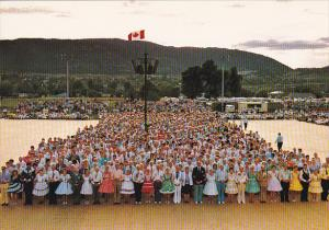 Grand March British Columbia Square Dance Jamboree Penticton Canada