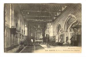 Interieur De l'Eglise, La Loupe (Eure-et-Loir ), France, 1900-1910s