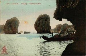 CPA AK INDOCHINA Tonkin Passe profonde VIETNAM (956688)