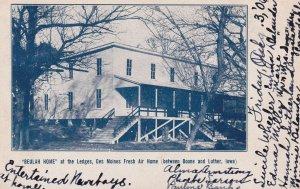 Beulah Home at the Ledges, DES MOINES Fresh Air Home , 1906, Iowa