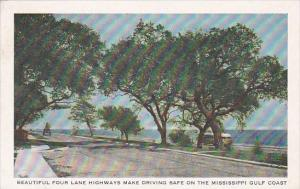 Mississippi Gulfport Beautiful Four Lane Highways Mark Driving Safe On The Mi...