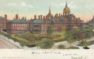 BALTIMORE, Maryland; 1901-07 ; John Hopkin's Hospital