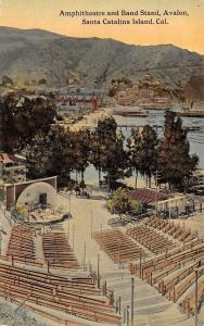 Santa Catalina Island California~Amphitheatre & Bandshell, Band Stand c1910