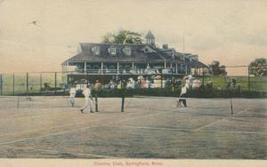 SPRINGFIELD , Massachusetts, 1908 ; Tennis at Country Club