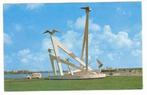 Autonomy Monument, Representing The Six Islands Of The Netherlands Antilles, ...