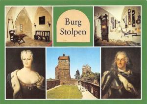 Burg Stolpen, Gerichtssaal, Folterkammer, Grafin Anna Constantia, Burghof
