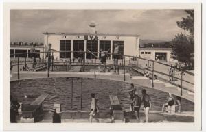 Slovakia; Dolne Povazie, EVA Thermal Baths, Piestany RP PPC, Unposted c 1950's