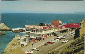 1967 postcard, the Cliff House, San Francisco, California