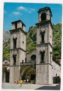 KOTOR, Montenegro, Cathedral, Katedrala, 1985 used Postcard