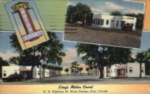 King's Motor Court Panama City FL 1955