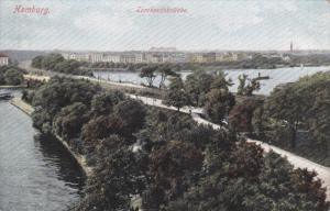 HAMBURG , Germany , 00-10s ; Lombardsbrucke