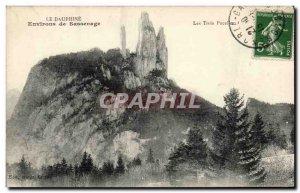 Old Postcard surroundings Dauphine Sassenage
