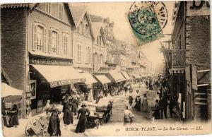 CPA BERCK-PLAGE - La Rue Carnot (163963)