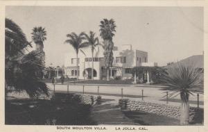 LA JOLLA, California, 1910-20s; South Moulton Villa