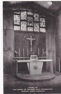 DURHAM, NC, 00-10s; Interior, Chapel, The Carmel Of The Most Holy Incarnation