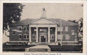 New Hamphire Conway Kennett Memorial High School 1934