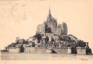 France Abbaye du Mont Saint-Michel Vue Generale Face Est