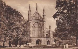 England Winchester Cathedral West Front