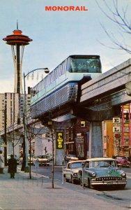 WA - Seattle.  Alweg Monorail