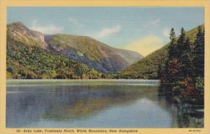 New Hampshire White Mountains Echo Lake Franconia Notch