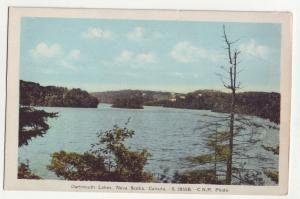 P941 vintage birds eye view dartmouth lakes nova scotia canada
