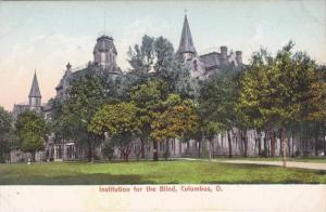 General view of the Institution for the blind, Columbus, Ohio, 00-10s