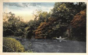 Annville PA~Rowboating Quittapahilla Creek @ Lovers Leap~Lebanon Valley College